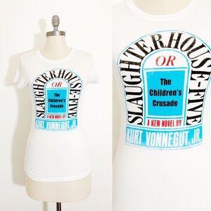 Kurt Vonnegut slaughter House Five t shirt med